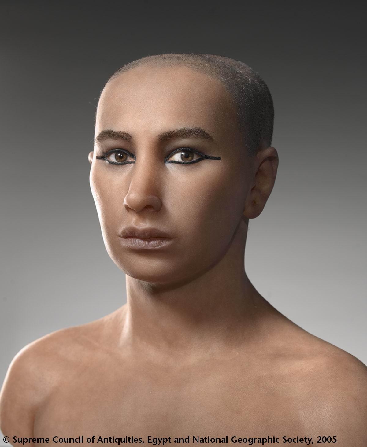 Лице в лице с Тутанкамон
