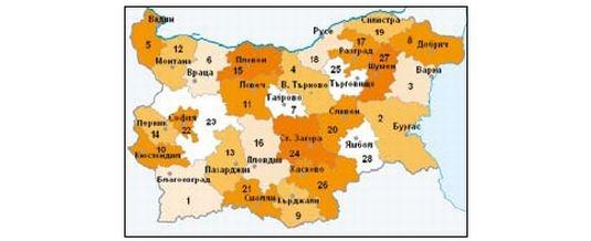 Административно – териториално устройство на България