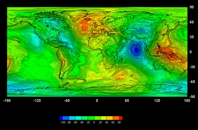 Спътник на Европейската космическа агенция създаде истински модел на геоида