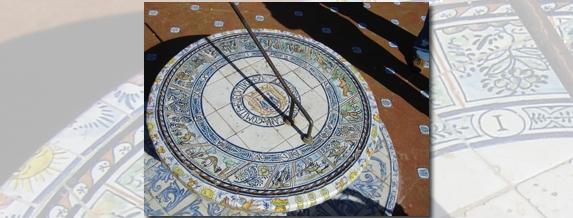 Измерването на времето и центърът на света