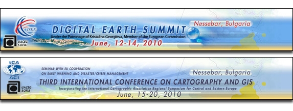 Отзвук от Third International Conference on Cartography and GIS 2010
