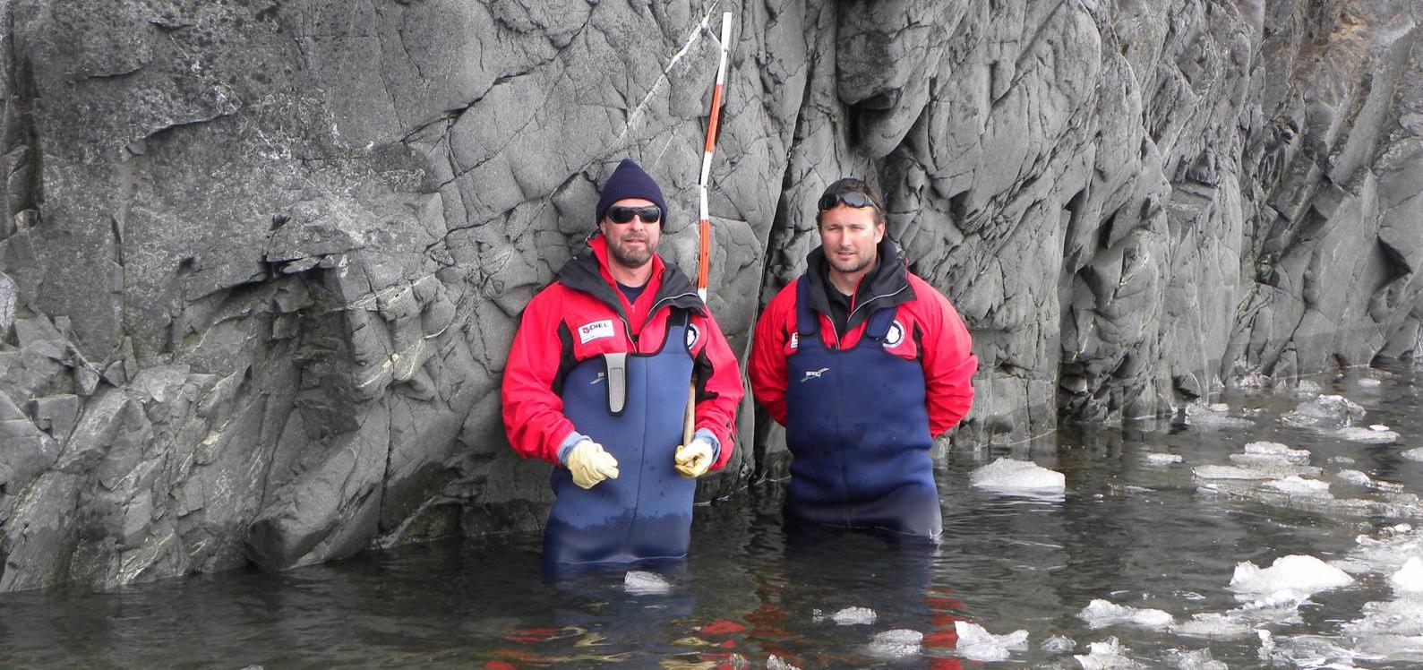 Хидрографски дейности при екстремните условия на Антарктика