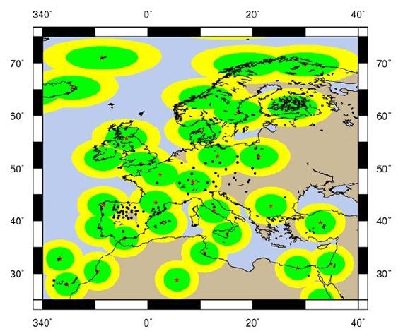 WARTK – позициониране с дециметрова точност в реално време на разстояния над 400 km от референтни станции
