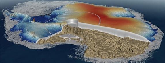 Европейски спътник картографира океанското дъно