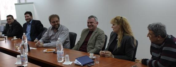 Асоциацията на геодезическите фирми домакин на колеги от Сърбия