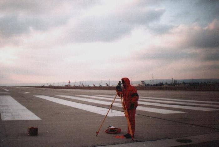 Определяне на прав и обратен азимут на пистите за излитане и кацане на гражданските летища в Република България