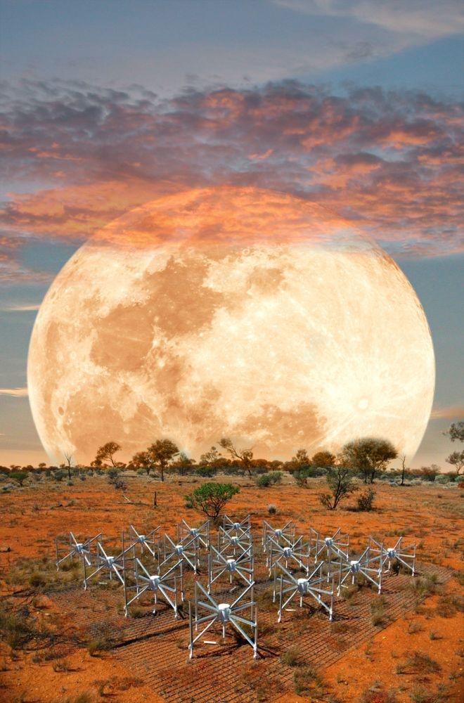 Радиотелескоп търси началото на Вселената