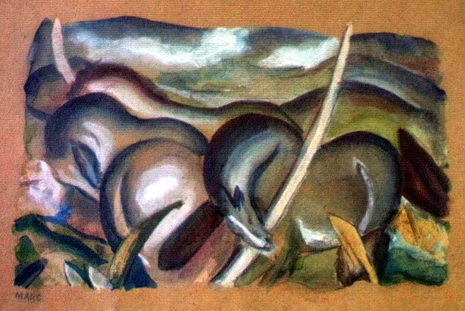 Marc Franz - Pferde in Landschaft