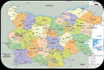 VisionMap с проект за заснемане на България