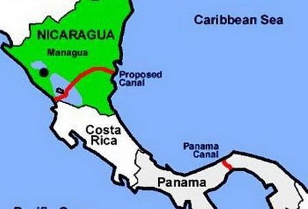 Китай инвестира $40 милиарда в канал в Никарагуа