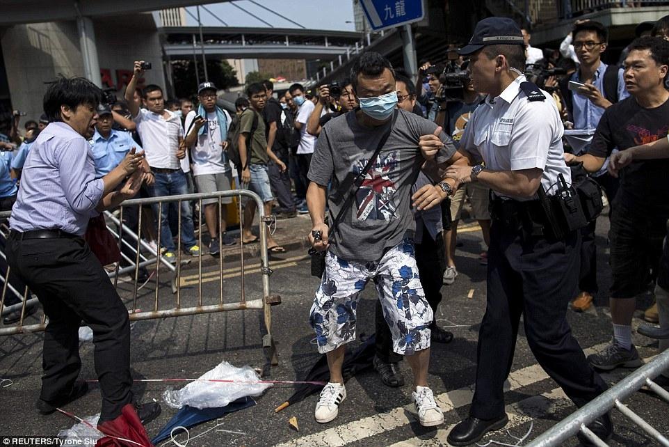 Революция или движение за промяна в Хонконг