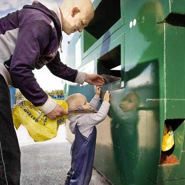 Шведите рециклират 99% от боклука си