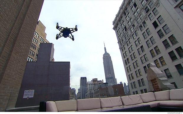 CNN тества дрони за репортажи