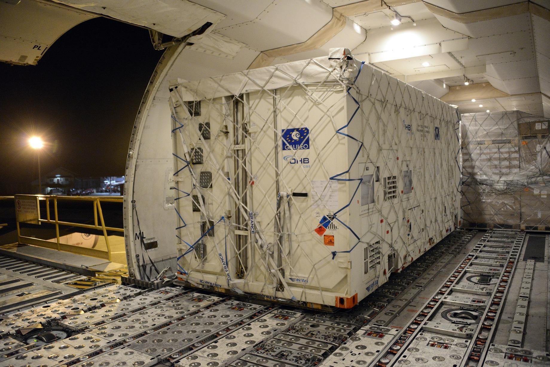 Два нови спътника Galileo в подготовки за изстрелване