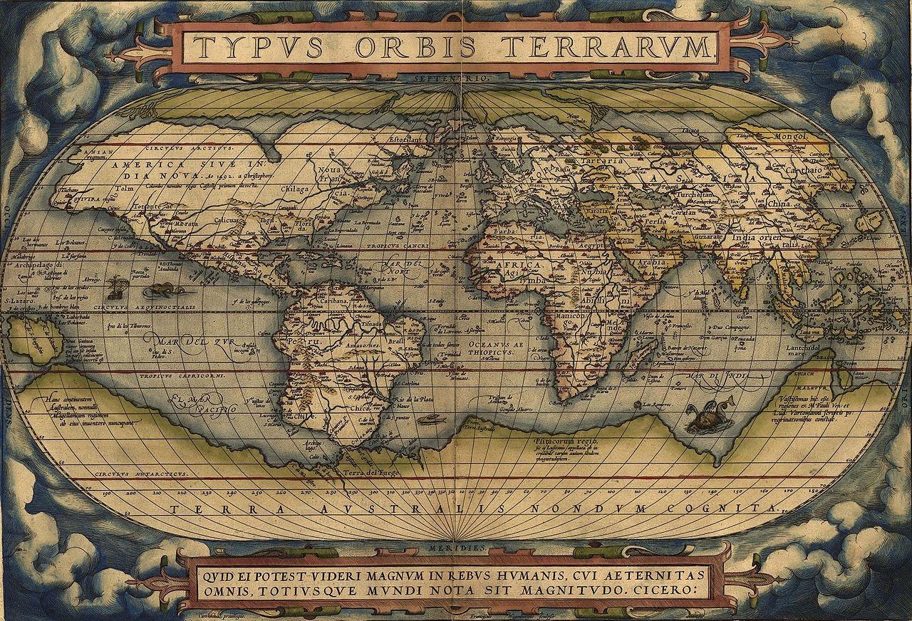 На тази дата картографът Абрахам Ортелий издава първия съвременен атлас