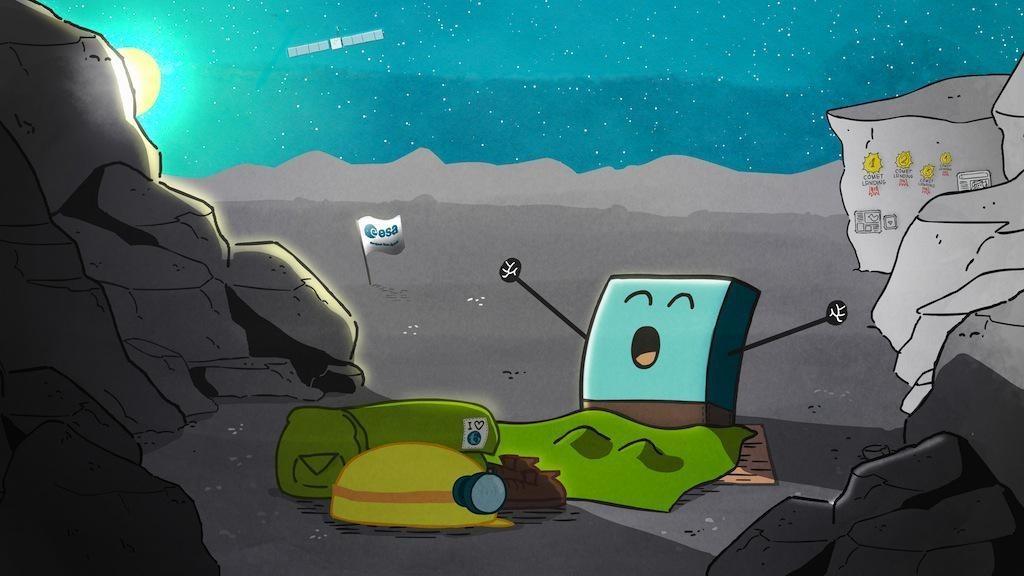 Сондата Philae се събуди