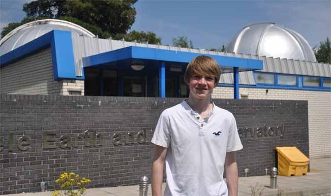 Ученик откри нова планета
