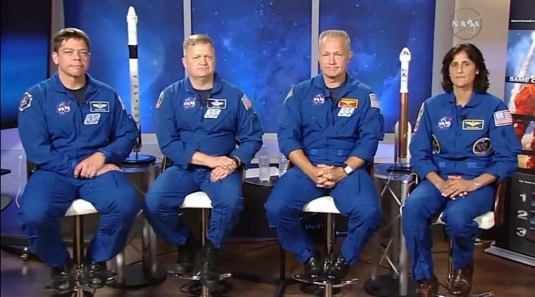 NASA обяви астронавтите за първия частен космически полет
