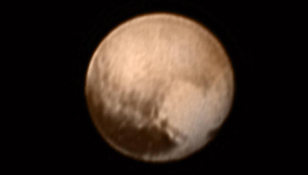 New Horizons засне Плутон от разстояние 8 милиона километра