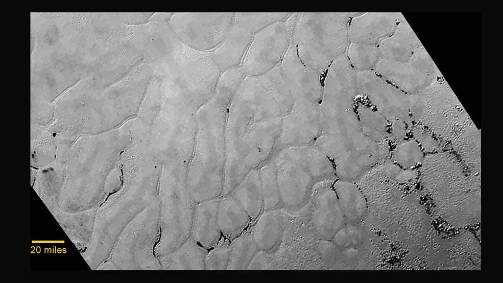 Откриха ледена равнина на Плутон