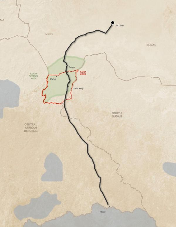 Проследиха маршрут за контрабанда на слонова кост чрез GPS