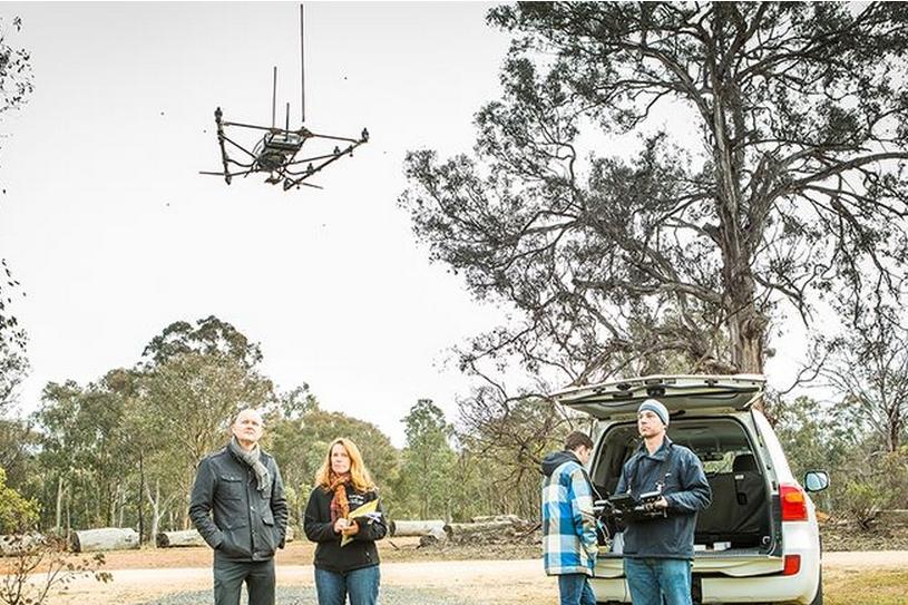 Създадоха дрон за проследяване диви животни
