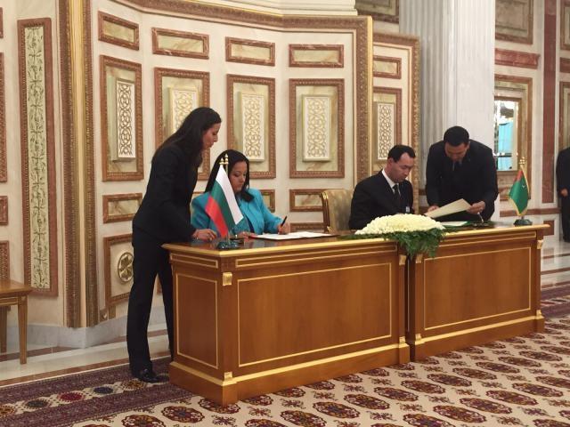 България ще си сътрудничи с Туркменистан в областта на строителството и архитектурата