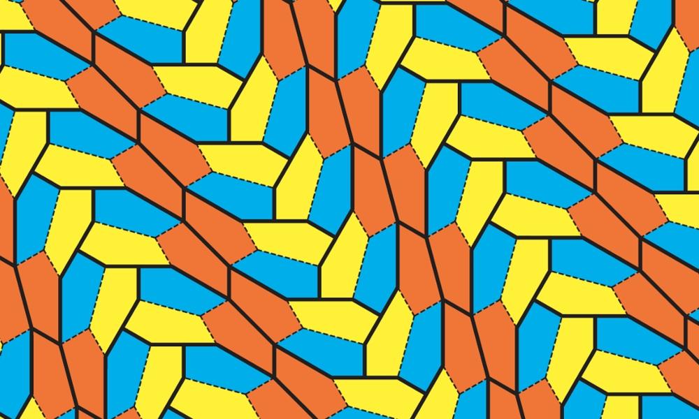 Нов петоъгълник покрива плътно равнина