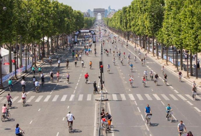 """""""Ден без автомобили"""" за първи път в Париж"""
