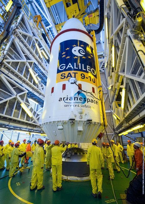 Само два дни до изстрелването на сателитите Galileo