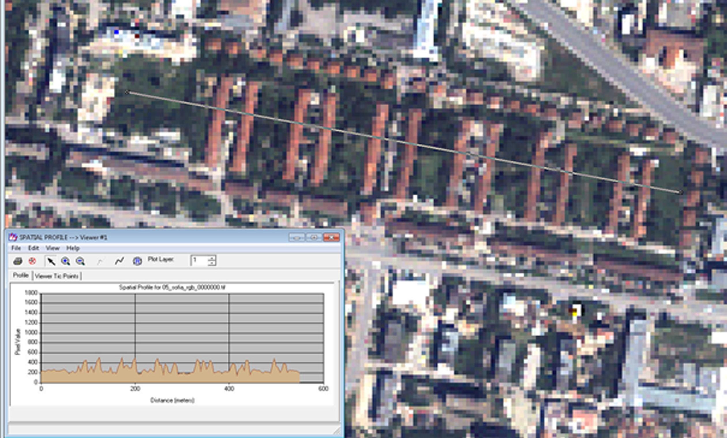 Използване на мултитемпорални изображения за проследяване на настъпили промени в застрояването на урбанизирани територии