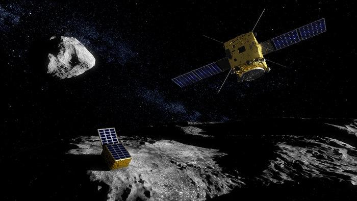 ЕКА с планове за изпращане на сонда до повърхността на астероид