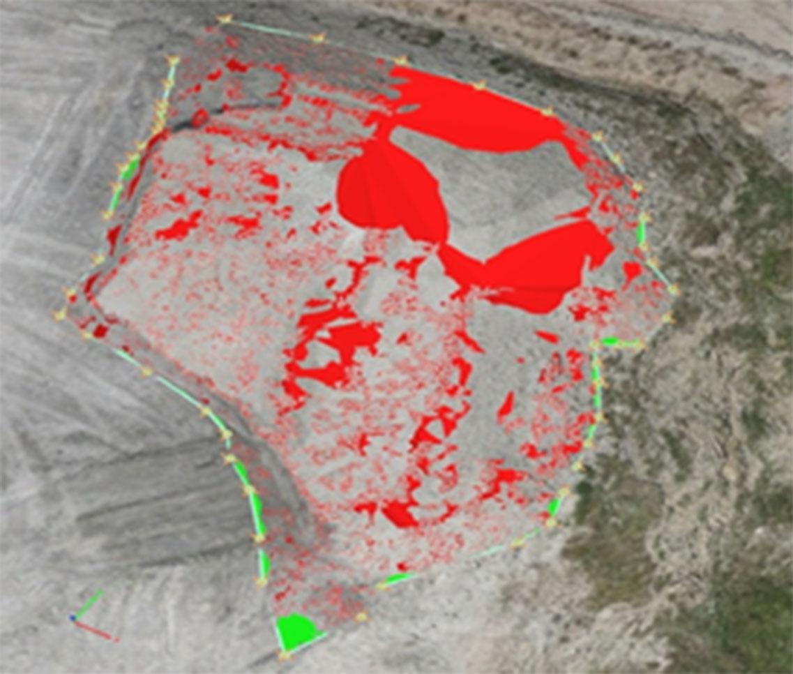 Използване на цифрови изображения от безпилотни летателни апарати и системи за изчисляване на обеми зeмна маса