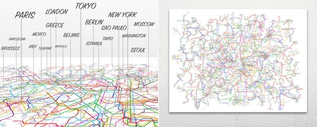 Световна карта на метрото