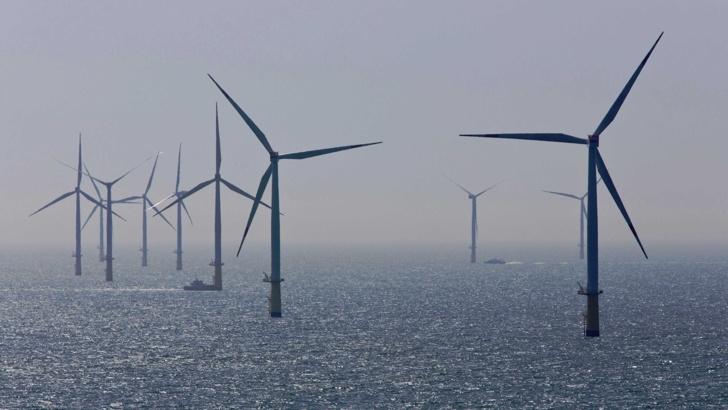 Шотландия с най-голямата ферма за ток от вятър