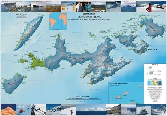 Президентът с указ за именуване на 127 географски обекта в Антарктида