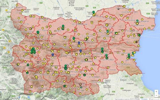 МОН с карта на професионалните гимназии