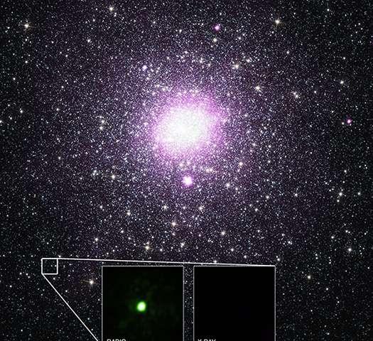 """Учени откриха черна дупка """"стелт"""""""