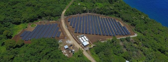 Остров в Тихия океан се захранва изцяло със слънчева енергия