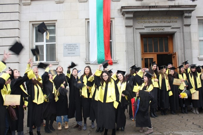 В петък връчват дипломите на випуск 2015/2016 на Геодезическия факултет на УАСГ