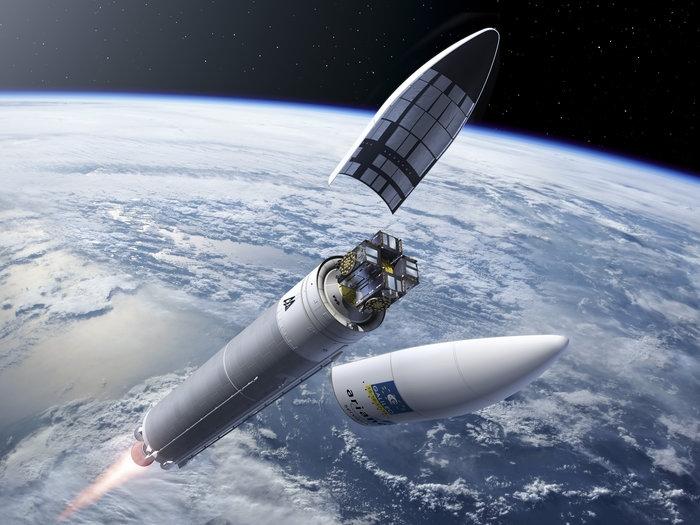 Гледайте наживо изстрелването на четирите сателита Galileo
