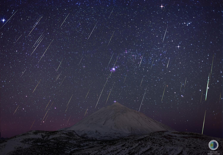 Довечера е максимуът на метеорния поток Джеминиди