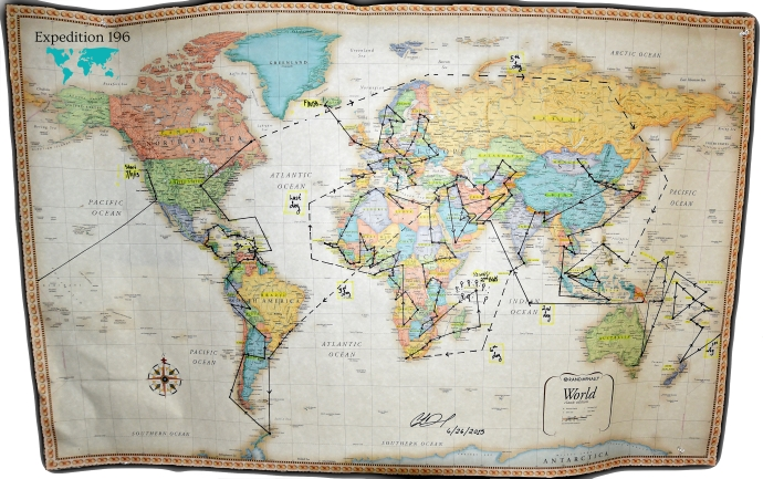 Американка посети всички държави и подобри световен рекорд