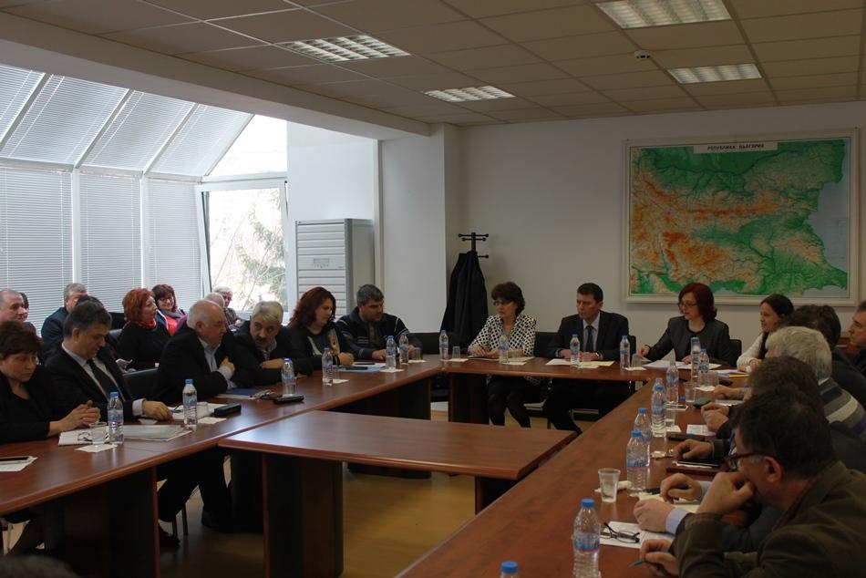Среща на гилдията с министър Попниколов и представители на АГКК