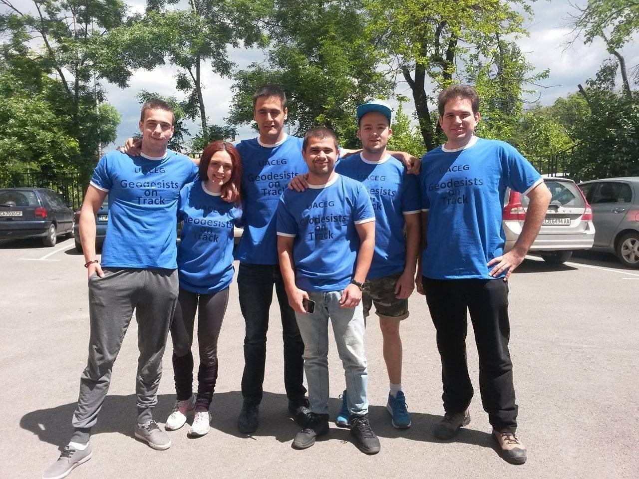 Денят на българския спорт се провежда с участието на студенти по геодезия
