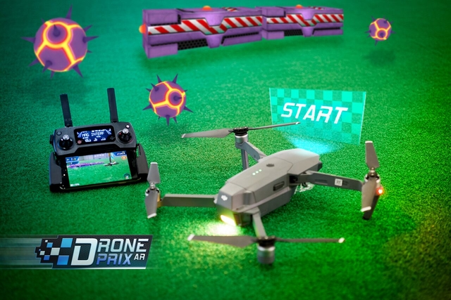 Излезе първата игра с добавена реалност за дрони