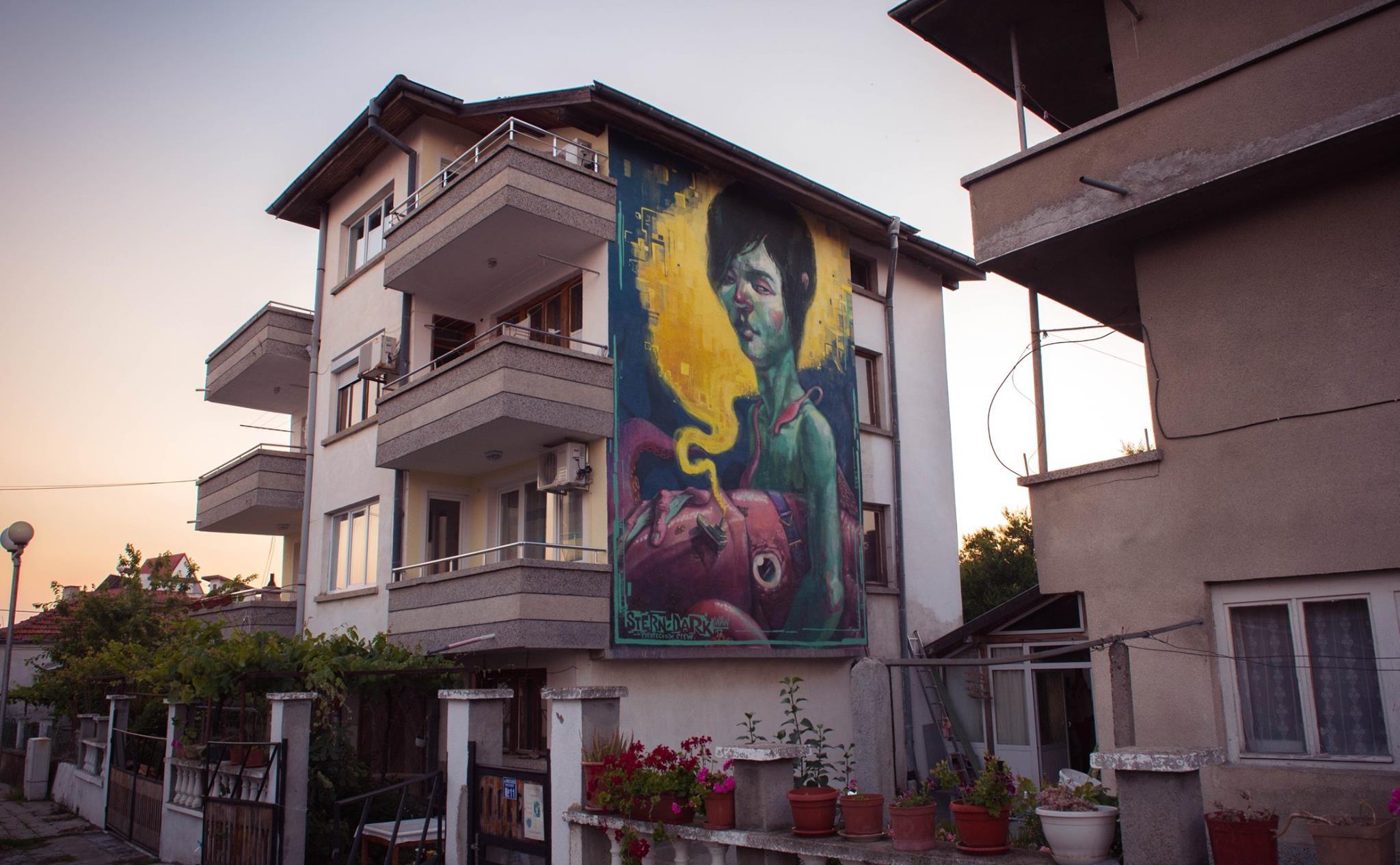 Ахтопол – галерия на открито за фасадна живопис