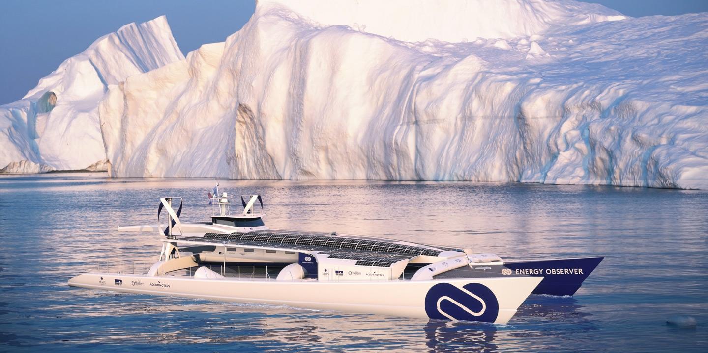 Започна околосветско пътешествие с кораб с нулеви вредни емисии