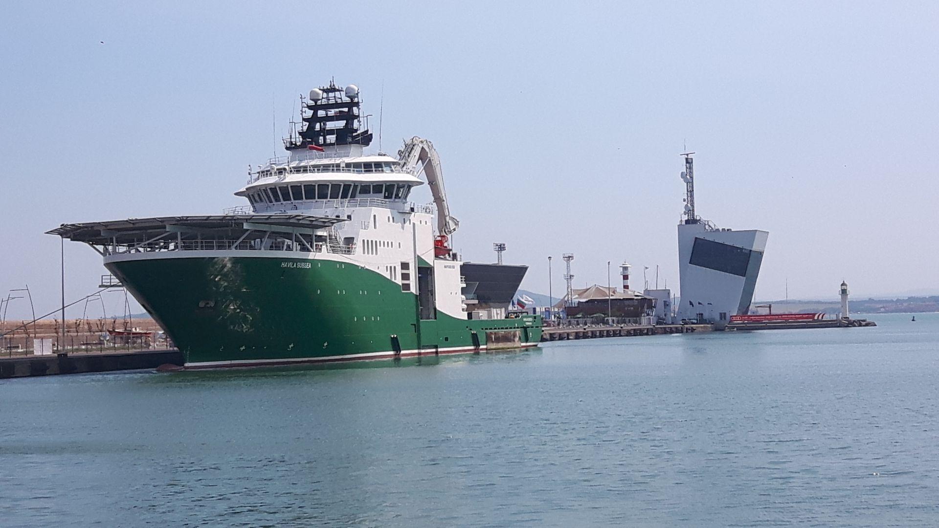Ден на отворените врати на борда на кораб, изследвал Черно море