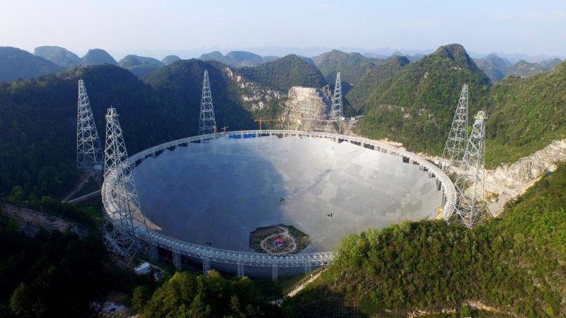 Обявиха първото откритие с помощта на гигантския радиотелескоп в Китай